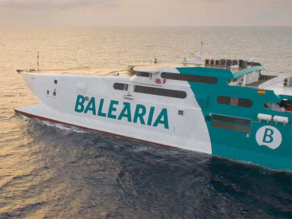 Ferry to Bahamas relaunched on Febraury 2021 from Port Lauderdale (Florida) with Balearia company